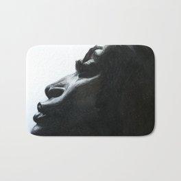 Black Woman Bath Mat