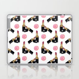 Fashion lipstick print  Laptop & iPad Skin