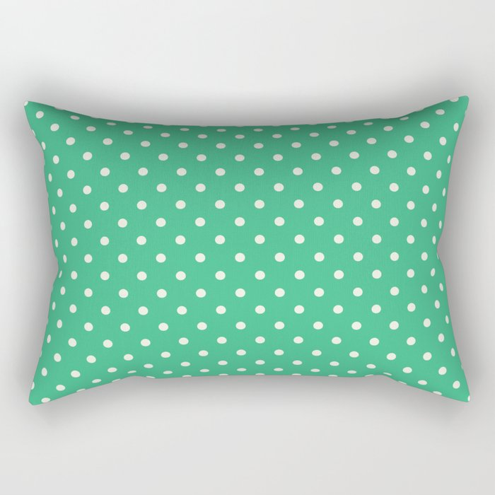 Mint Green Rectangular Pillow