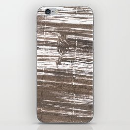 Umber abstract watercolor background iPhone Skin