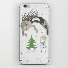 Bear spirit iPhone & iPod Skin