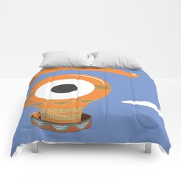 eye balloon Comforters