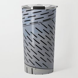 Metal shapes with line notches Travel Mug