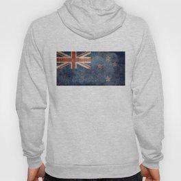 New Zealand Flag - Grungy retro style Hoody