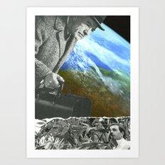 A Question Of Balance Art Print