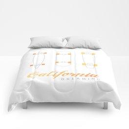 California Dreaming Comforters