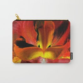 Fiery Center - Inverted Art Carry-All Pouch