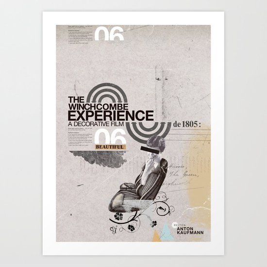 Additional poster design- The Wichcombe Experience Art Print