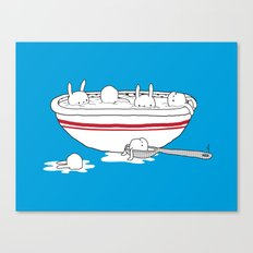 Bunny Soup Canvas Print