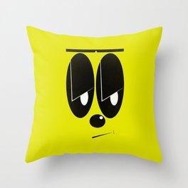 Hmph Throw Pillow