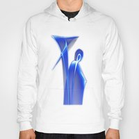dance Hoodies featuring Dance by Digital-Art