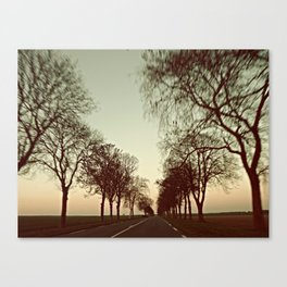 there is this undiscovered space, 3 Canvas Print