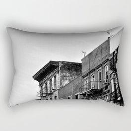 New York From Below Rectangular Pillow