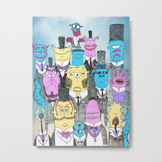 A Few Good Monsters Metal Print