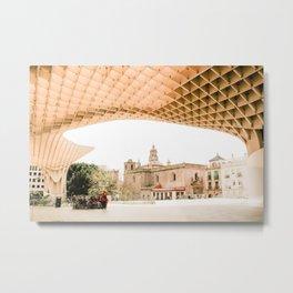 Sevilla Architecture, Spain, Metropol Parasol - Wall Art Photo Print Metal Print