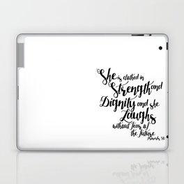 She is ... Laptop & iPad Skin