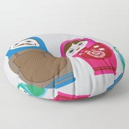 Nesting Family Floor Pillow
