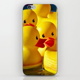 When they toss the ring, duck! iPhone Skin