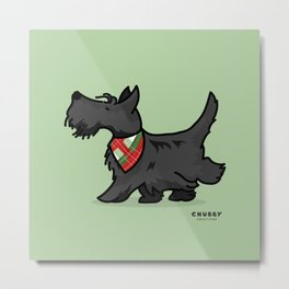 The Scottish Terrier Metal Print