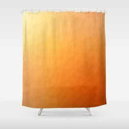 Orange flakes. Copos naranja. Flocons d'orange. Orangenflocken. Оранжевые хлопья. Shower Curtain