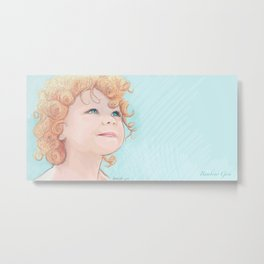 Little Children Metal Print