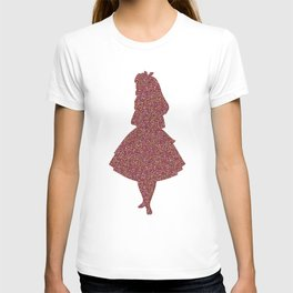 Glitter party Alice T-shirt