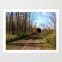 Upstate New York in Fall Art Print