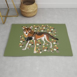 Photographer Red Wolf Rug