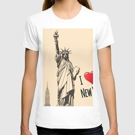 Statue we love T-shirt