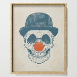 Dead clown Serving Tray