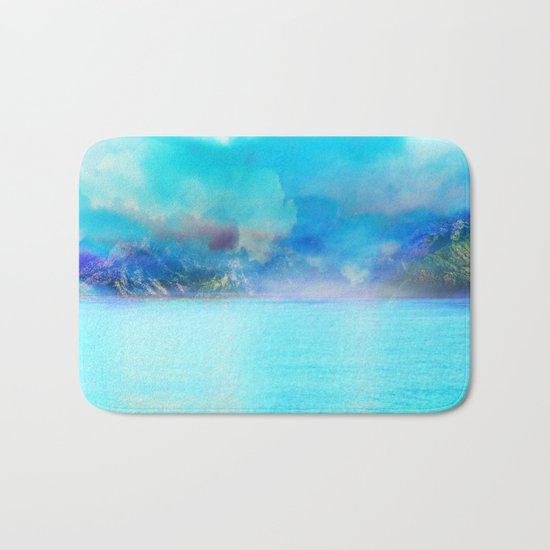 Fantasy Landscape Bath Mat