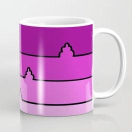 Landscape in Pink Coffee Mug