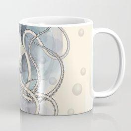 Classy Victorian Squid Coffee Mug