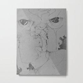 Bulls-eye View Metal Print