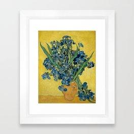 Vincent van Gogh - Irises Still Life Framed Art Print