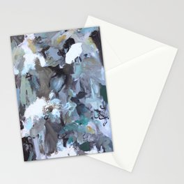 Blue Composition  Stationery Cards