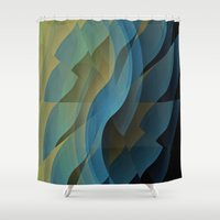 wings Shower Curtains featuring Wings by David Lee