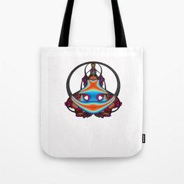 Meditating              Tote Bag