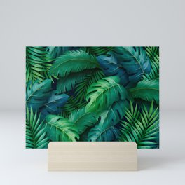 Tropical Leaves Mini Art Print