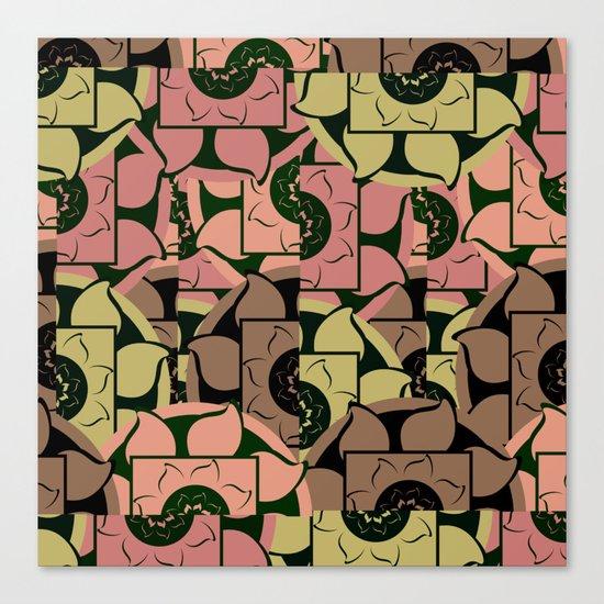 Floral pieces Canvas Print