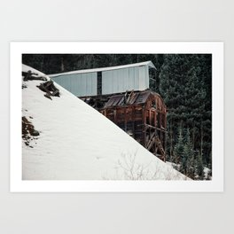 Silverton Mine Art Print