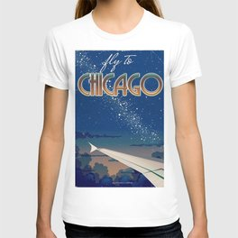 Fly to Chicago T-shirt