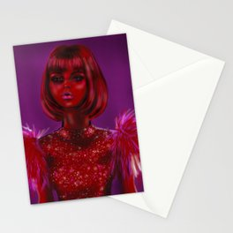 Glamour Girl Stationery Cards