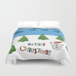 Christmas motif No. 1 Duvet Cover