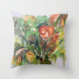 As They Die (ii) Throw Pillow