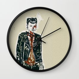 Divided Wall Clock