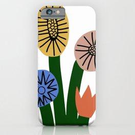 Four season bloom iPhone Case