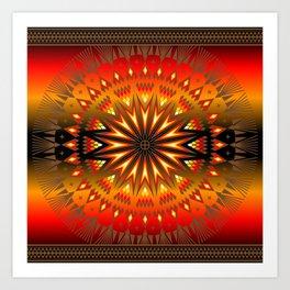 Fire Spirit Art Print