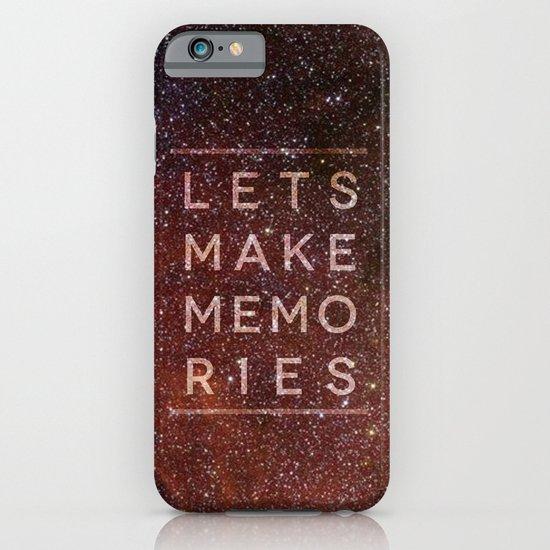 Let's Make Memories iPhone & iPod Case
