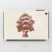 thrones iPad Cases featuring Old Growth  by Terry Fan